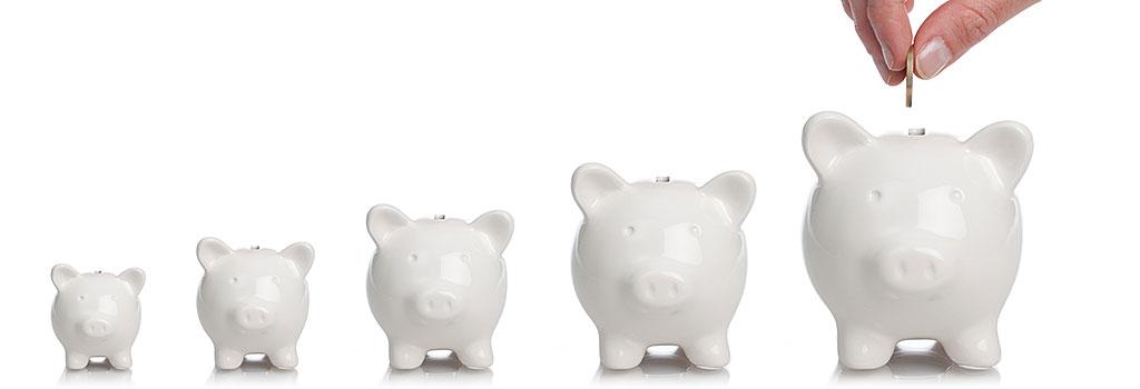 Retirement Piggybanks
